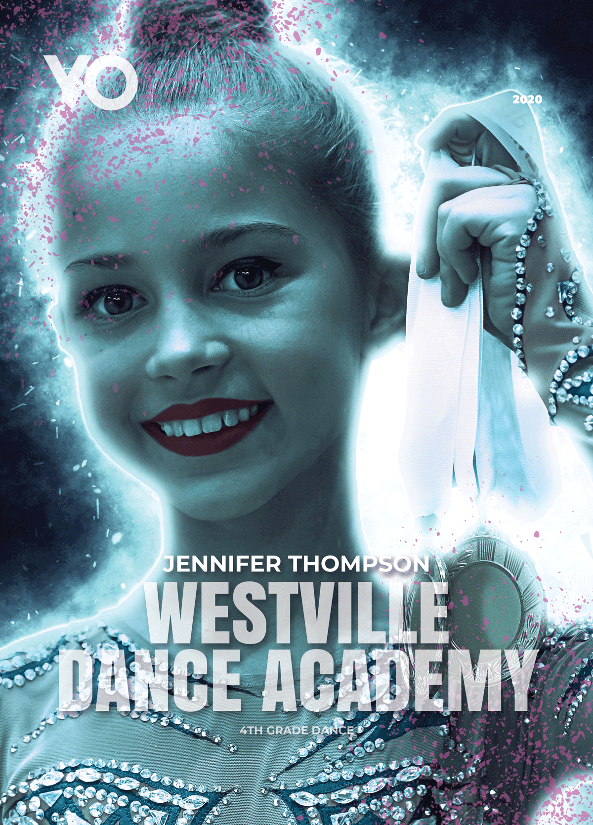 Personalized Dance Poster