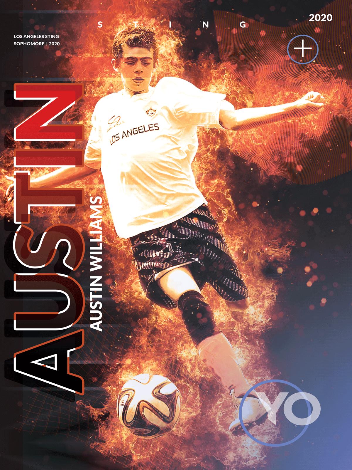 Custom Soccer Poster