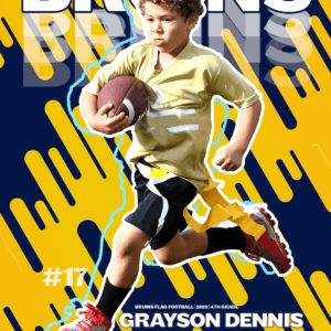 Just Having Fun Sports Poster
